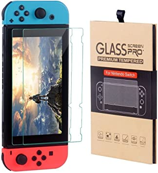 Nintendo Switch Console CSL Twin Pack Premium Tempered Glass 9H ...