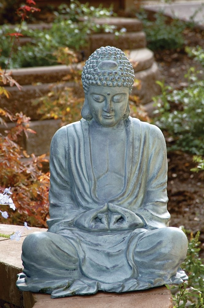 R Amazoncom  SPI Home 31299 Large Garden Buddha Sculpture Outdoor Statues  U0026