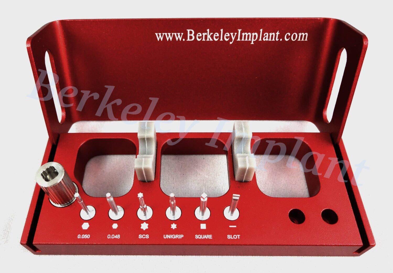 Dental Implant Multi-Driver Set for Dental Lab by Berkeley Implant (Image #1)