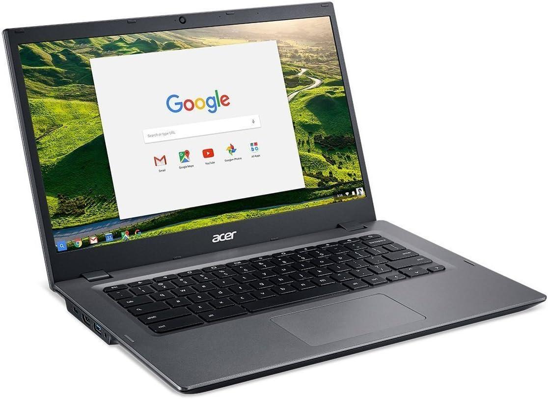 "Acer Chromebook 14, Aluminum, 14-inch HD, Intel Celeron Dual core, 4GB LPDDR3 Ram, 16GB Memory, Black (14"")"