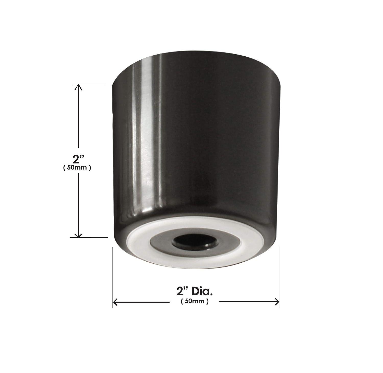 Slipstick CB512/2/Inch Tall suelo Protector Muebles patas con empu/ñadura de goma antideslizante color negro pl/ástico Juego de 4 2/cm de ancho x 2/cm