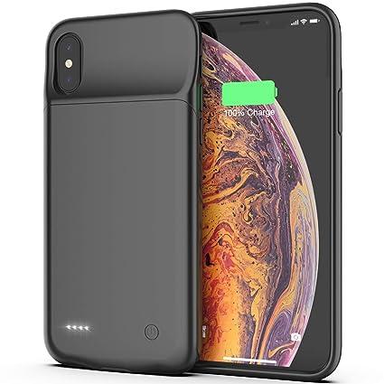 Amazon.com: iPhone X/Xs/10 funda de batería, 3200 mAh ...