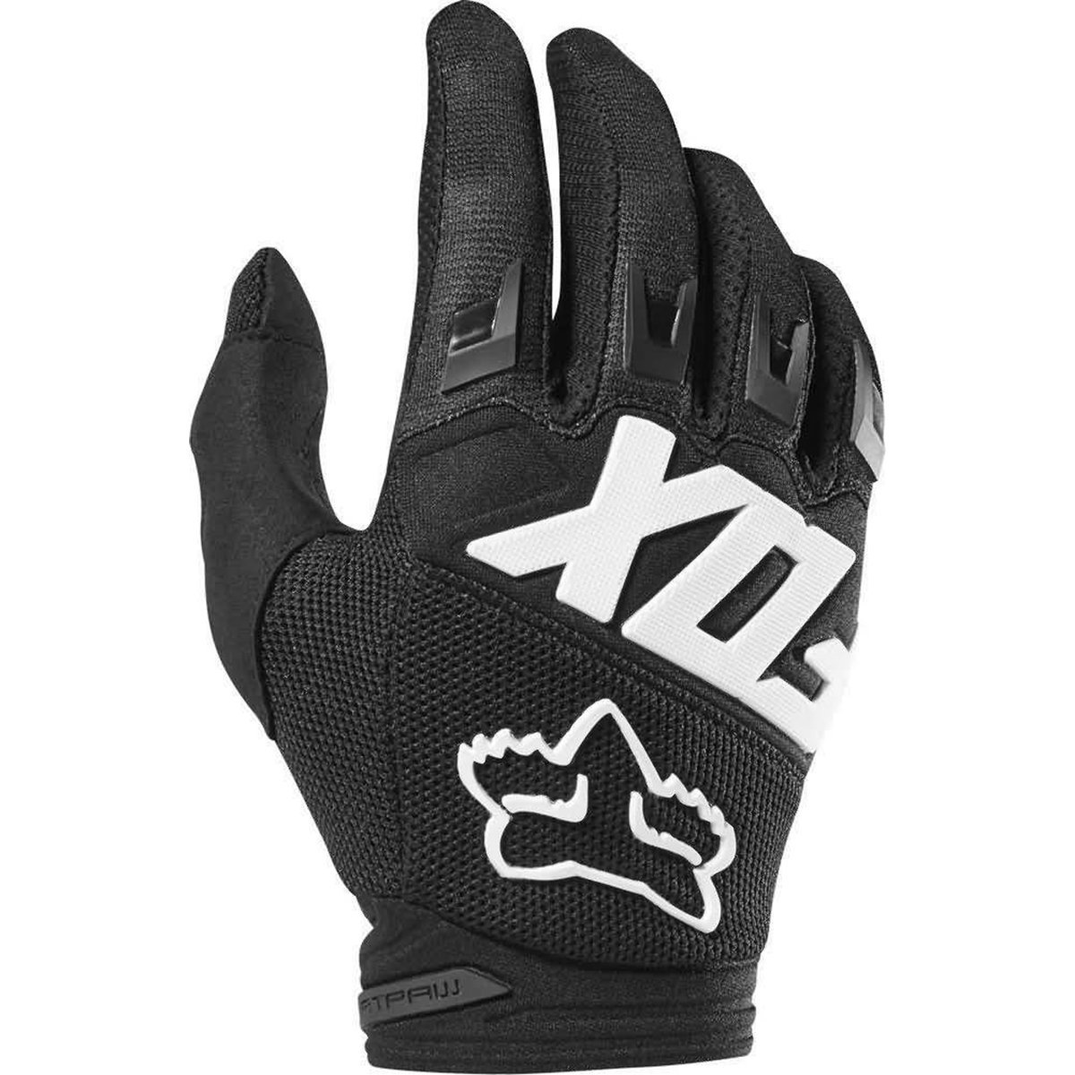 Fox Racing 2019 Youth Dirtpaw Gloves - Race (LARGE) (BLACK)