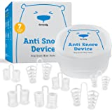 Anti Snoring Nasal Dilators - Set of 7 Premium Quality Nose Vents with Travel Case - Most Comfortable Snore Stop Solution