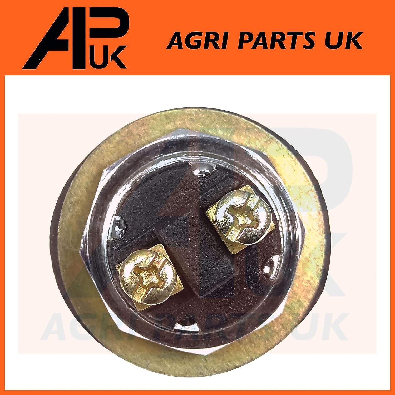 APUK 12V Black Waterproof Push button Momentary Ignition Starter Start Horn Switch
