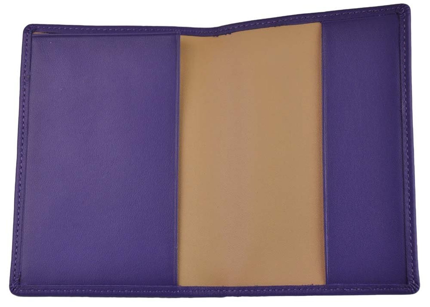 Tan 2 EMPORIUM LEATHER DBA Royce Leather Royce Leather RFID Blocking Passport Travel Document Organizer in Leather RFID-203-TN-5
