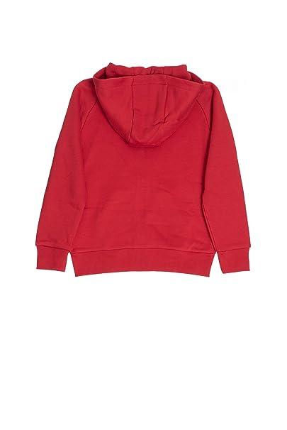 Nike Felpa con Cappuccio e Zip Bambino Jordan Rossa  Amazon.it   Abbigliamento af4cf0890c7c