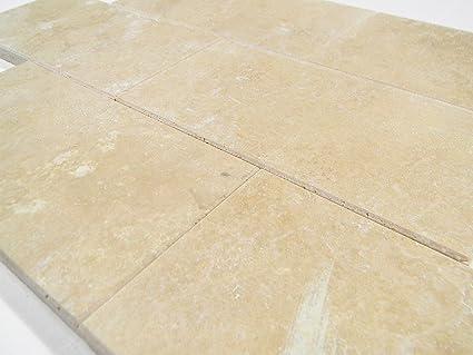 Durango Cream Travertine Honed Bevel 3x6 Tile Marble Tiles