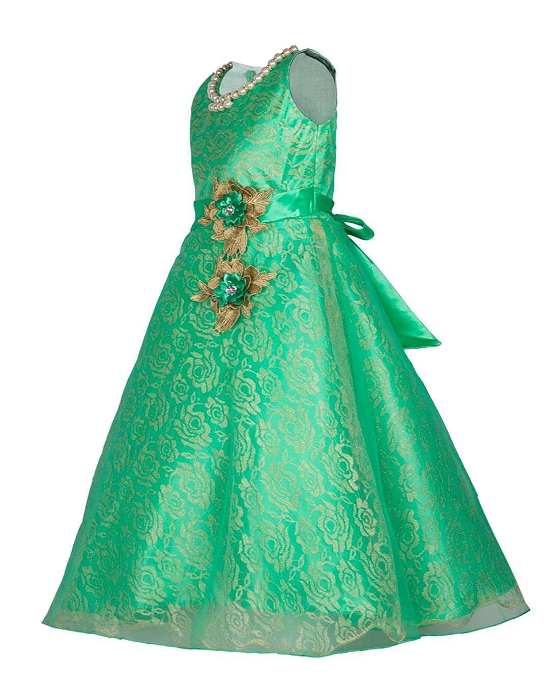 My Lil Princess Girl\'s Net Frock: Amazon.in: Clothing & Accessories