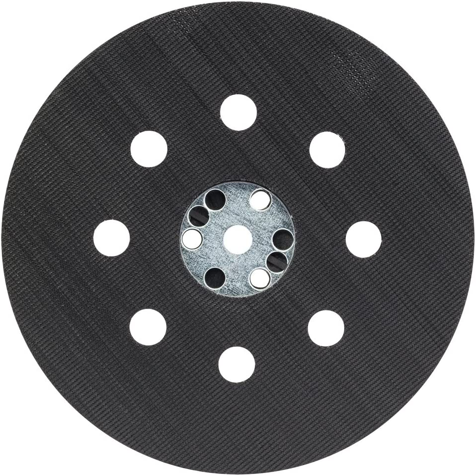 Bosch Professional Plato de lija (Ø 125 mm, dureza media, accesorio de lijadora excéntrica)