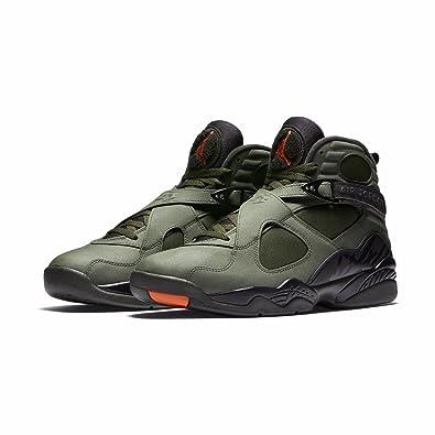 7824f7f978c ... buy nike mens air jordan 8 retro sequoia orange leather size 8.5 fee00  612ac
