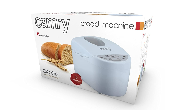 Camry CR6012 Máquina de hacer pan, 900 W Blanco: Amazon.es: Hogar