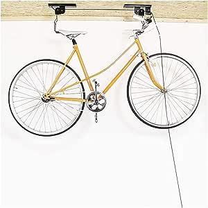 Soporte colgador de bicicletas para techo, poleas para bicicleta, elevador de bicicletas de hasta 20 kilos: Amazon.es: Bricolaje y herramientas