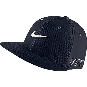 Nike New True Tour Flat Bill Rzn Vapor Large Xl Black Hat Cap   Amazon.co.uk  Sports   Outdoors 02b06ee1b94