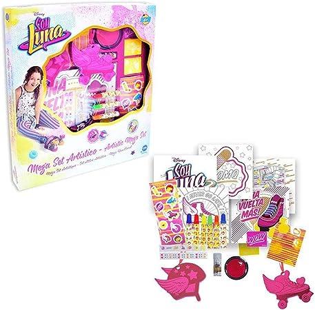Soy Luna - Mega Set artístico holografico (CIFE 40345): Amazon.es: Juguetes y juegos