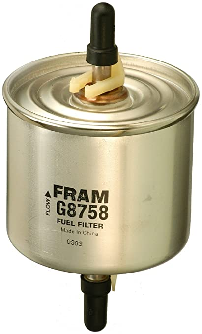 amazon com fram g8758 in line fuel filter automotive Diesel Inline Fuel Filter Assembly