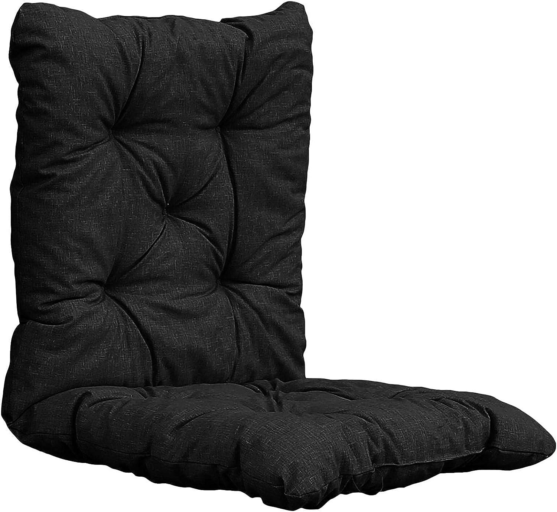 Cojín de tumbona, cojines de silla relax, cojín para silla de jardín para silla, cojín exterior jardín flair – 50 x 50 x 50 cm (sólo solamente)