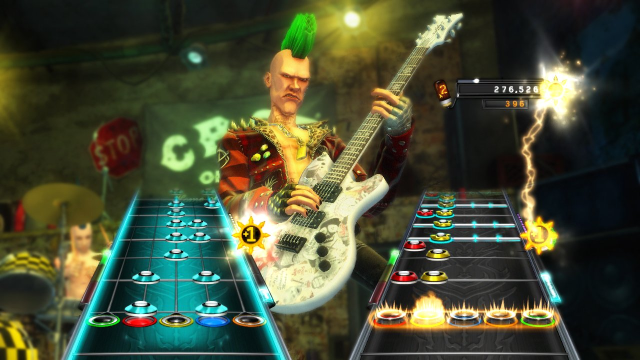 Guitar Hero: Warriors of Rock Stand-Alone Software - Nintendo Wii by Activision (Image #4)