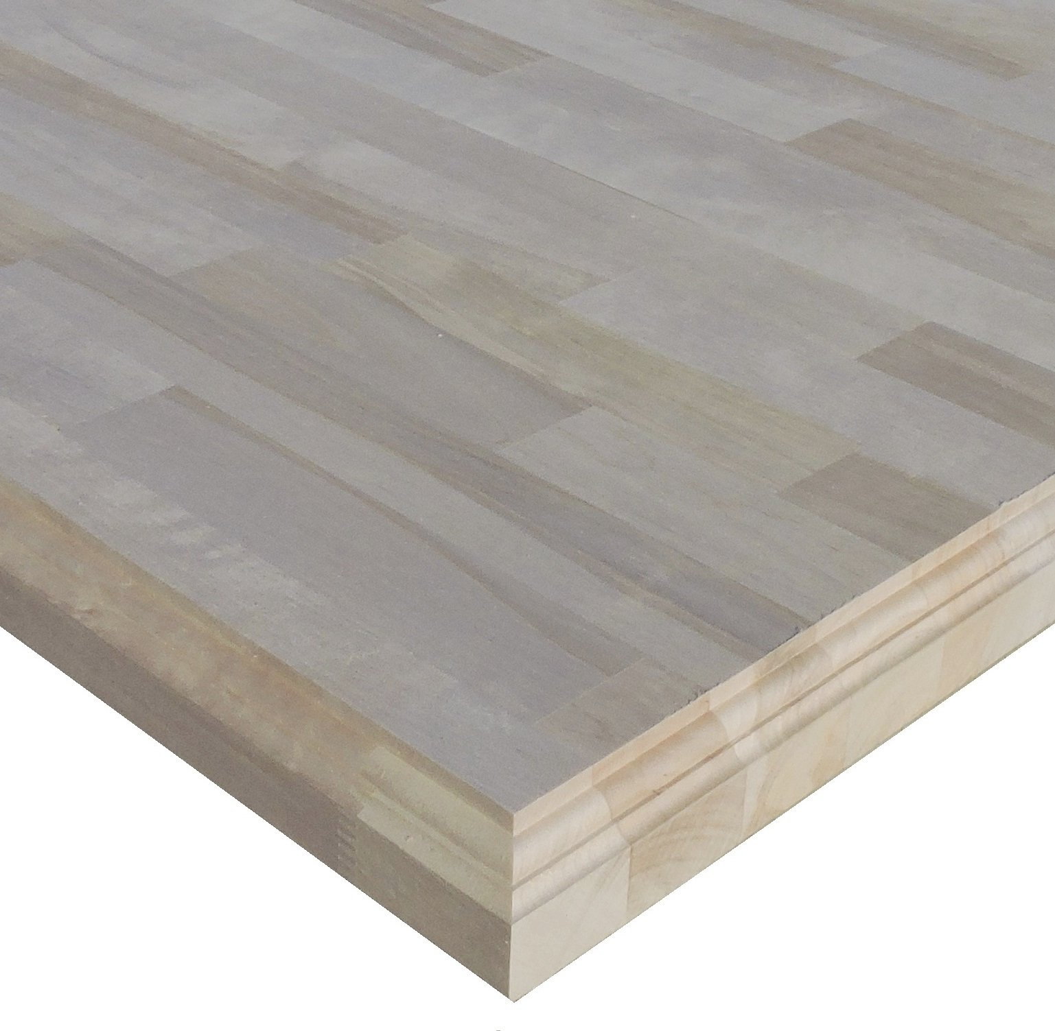 Allwood 1.5'' x 30'' x 84'' Birch Table/Counter / Island Top - Classic Roman Edges
