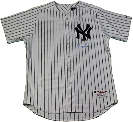 Hideki Matsui Signed New York Yankees Authentic Home Jersey (Signed ... 11180e82d63