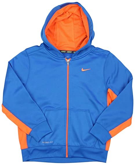 1eb2e3e52e38 Nike Therma-FIT KO Hoodie - Boys 4 - 7 ATHLETIC FULL ZIP SHIRT (6)   Amazon.in  Clothing   Accessories