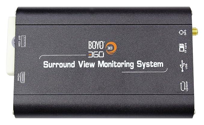 Amazon Boyo Vt Bp2 Vt Bp With 3d All Around View 4 Camera