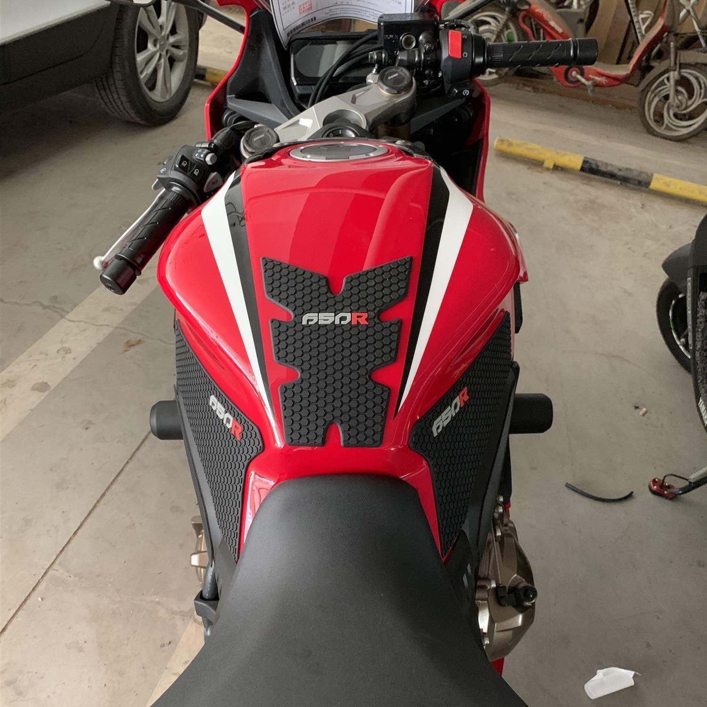 ACEACE Motorrad-Beh/älter-Auflage-Aufkleber /Öltank-Schutz-Antirutsch-Beh/älter Grip Abziehbilder Color : CB650R only