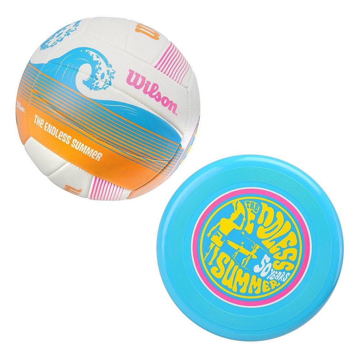 Wilson Endless - Balón de voleibol, tamaño M, color blanco Wilson Teamsport WTX0522 KIT