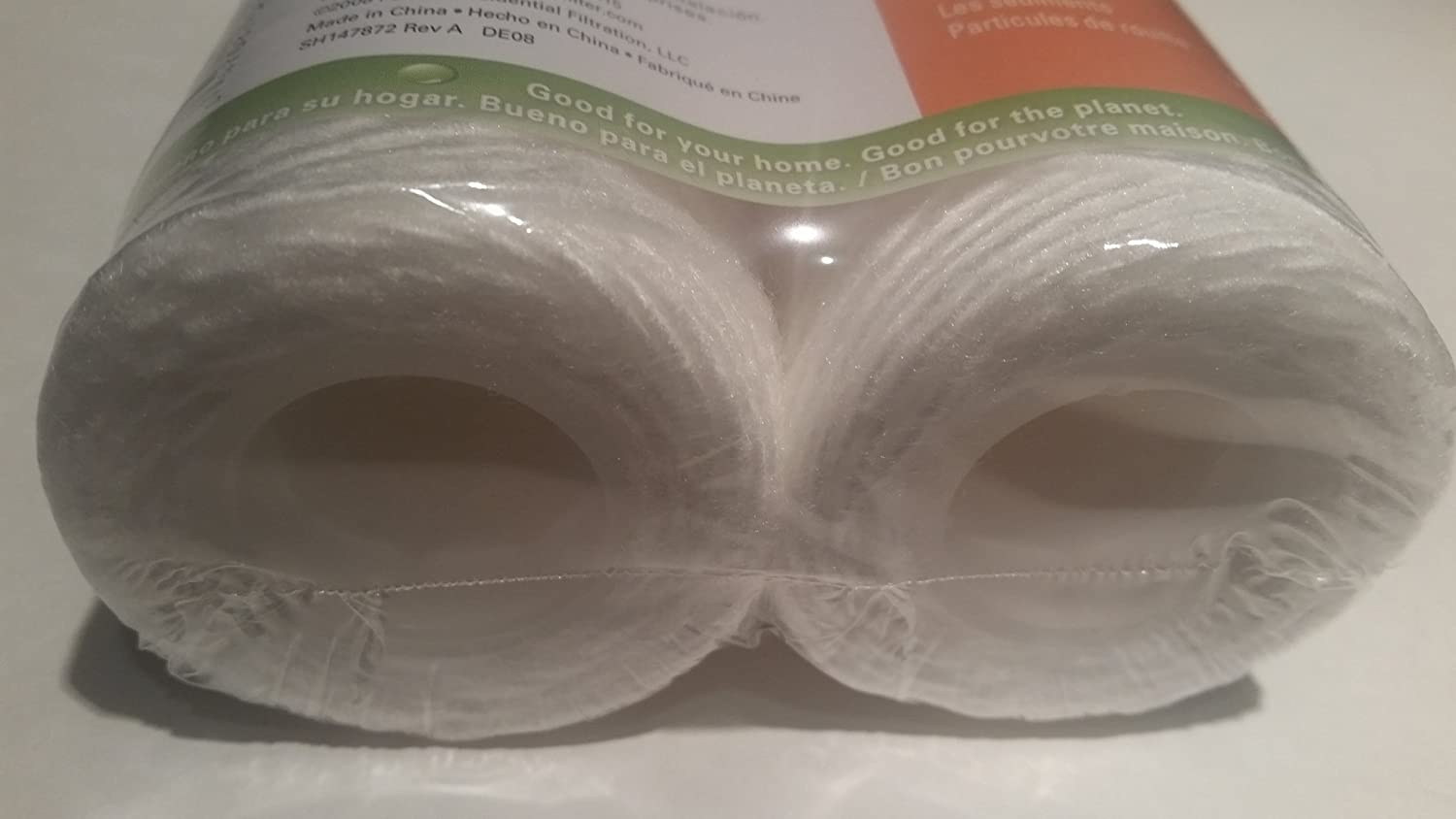 Twin Pack Omnifilter RS3-DS Omni RS3-DS Whole House Replacement Under Sink Water Filter Cartridge Water Filter Two Pack String Wound 2-Pack Sediment /& Rust RS3 DS RS3DS