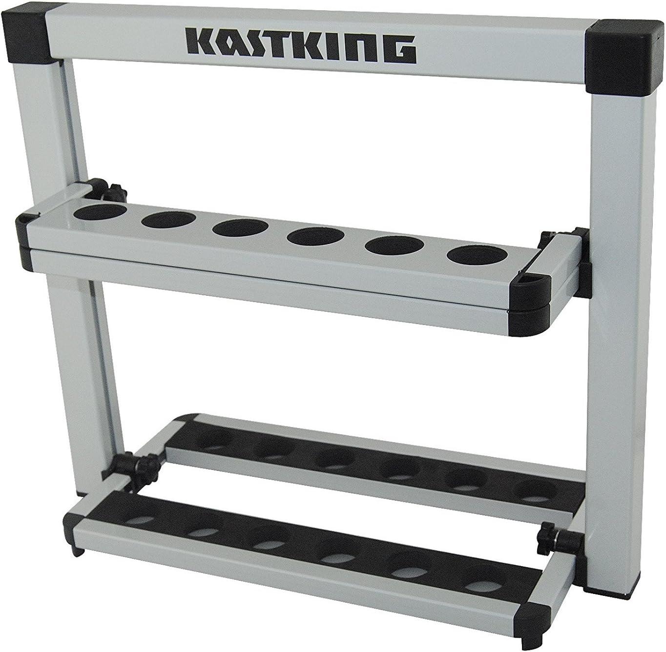 KastKing Rack em up cañas de Pescar Holder portátil 12 de ...