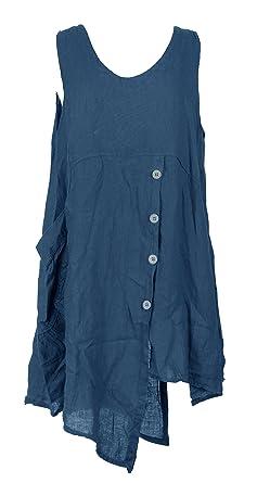 Generic Damen Kleid weiß weiß One size Gr. One size, blaugrün
