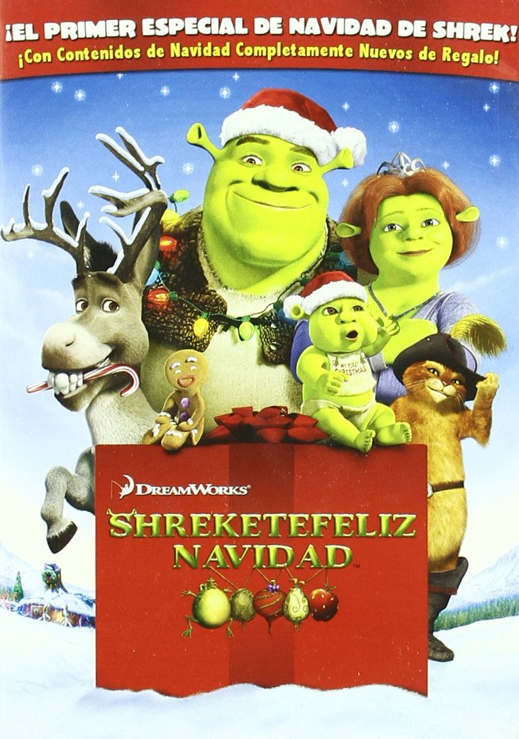 Amazon.com: Shreketefeliz Navidad+Trilogia (Import Movie) (European Format - Zone 2) (2008) Gary Trousdale; Vicky Jenso: Movies & TV
