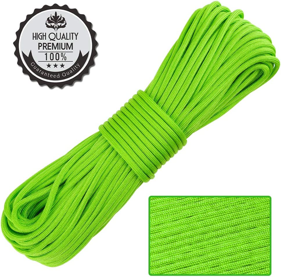 Do-it-yourself Hammock for Camping Tent CampAir 100m Reel of Nylon Paracord 425 Type II 3mm