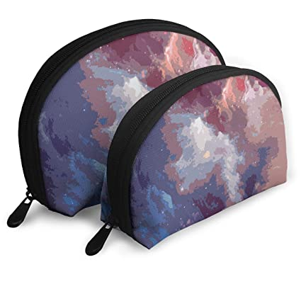 Amazon.com: Organizer Travel Martian Starry Universe Pouch Zipper Toiletry Set of 2 Portable Makeup Bag: Home & Kitchen