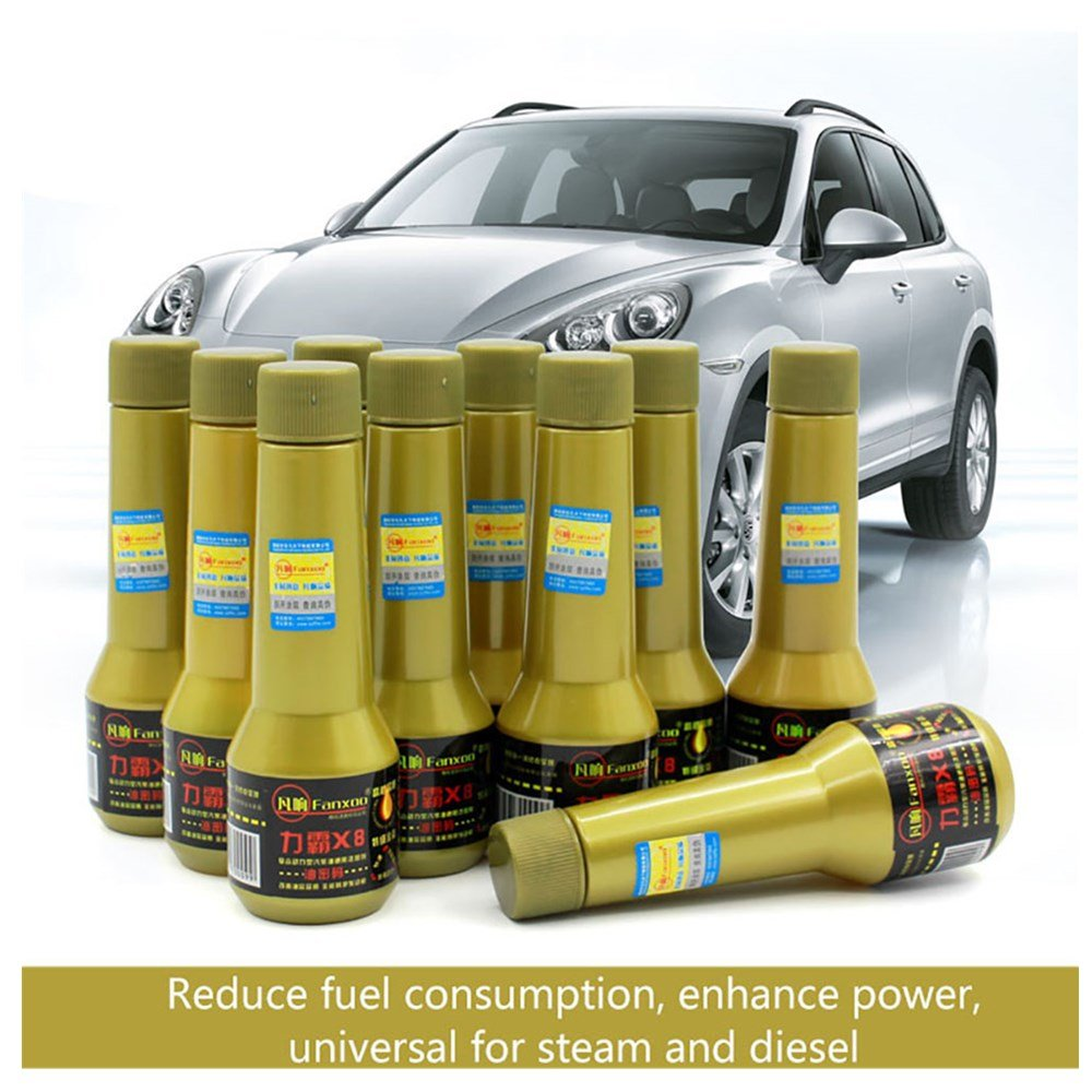 Prom-near Benzina Carburante Additivo Diesel Additivo Pulitore Dispersion Medio stabilizzatore 30 ML Auto General Benzina Diesel General Olio combustibile Saver Carbon pulizia carburante Additivo