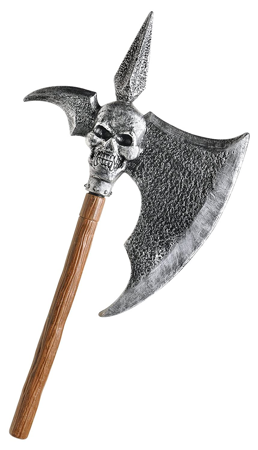 Amscan International 76 cm Adults Spiked Skull Axe 840067-55