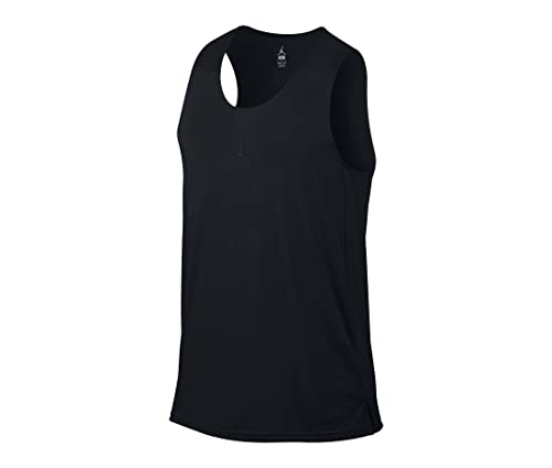 Amazon.com: Nike Men\u0027s Jordan Flight Basketball Tank Jersey Black/Black  (Small): Sports \u0026 Outdoors