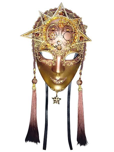 Amazon.com: Full Face Suela Volto veneciano máscara de lujo ...