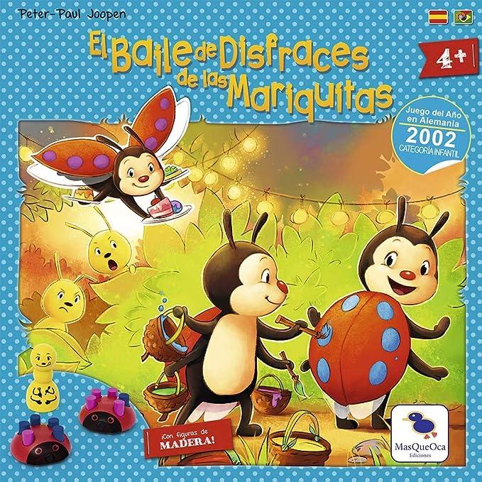 Ediciones MasQueoca - El Baile de Disfraces de las Mariquitas (Español)(Portugués): Amazon.es: Juguetes y juegos