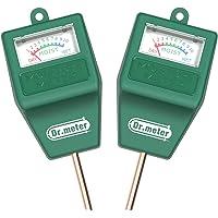 [2pack Soil Moisture Meter ] Dr.meter Hygrometer Moisture Sensor Meter for Garden, Farm, Lawn Plants Indoor & Outdoor(No…