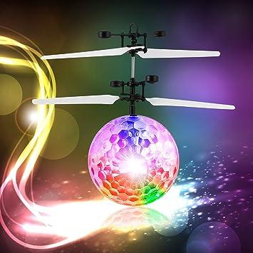 Fpvrc - Bola voladora - Drone para Niños - Sensor de infrarrojos - Helicóptero RC con