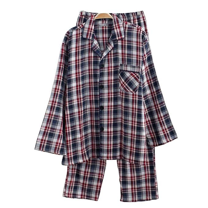 Traje de Pijama de Tela de casa de Gasa Doble B: Amazon.es: Ropa y accesorios