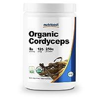 Nutricost Organic Cordyceps Powder 250 Grams - USDA Certified Organic, Non-GMO,...