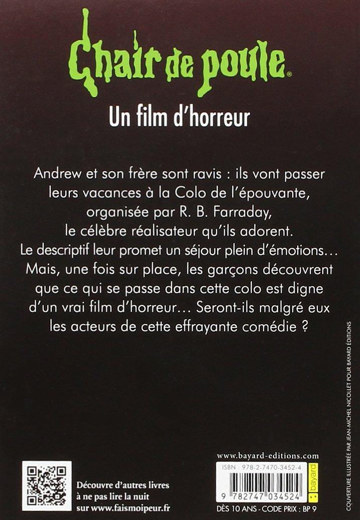 Amazon Com Un Film D Horreur 9782747034524 R L Stine Books