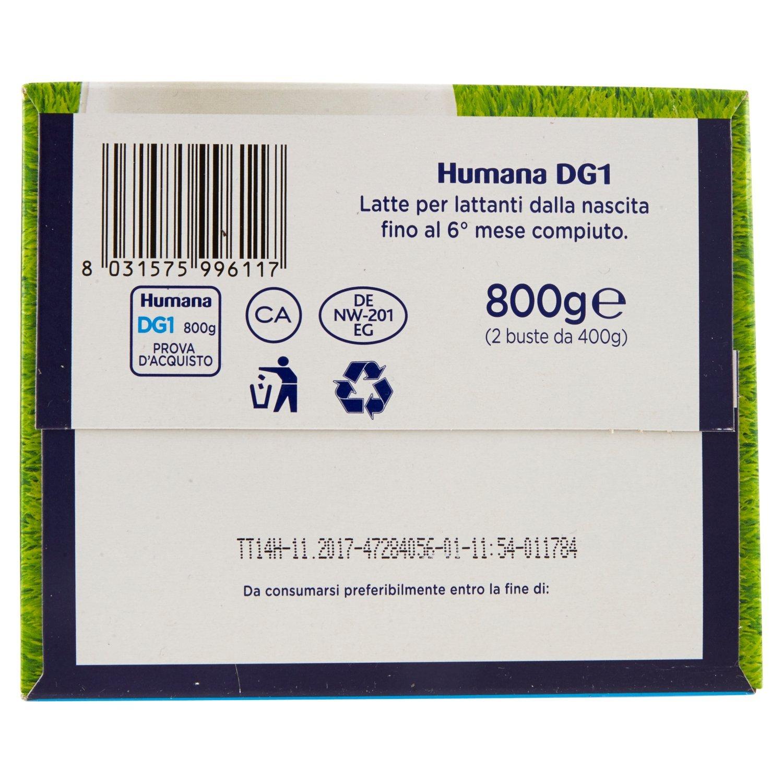 Amazon.com: Humana Dg 1 Milk Powder From Birth 800g: Health & Personal Care