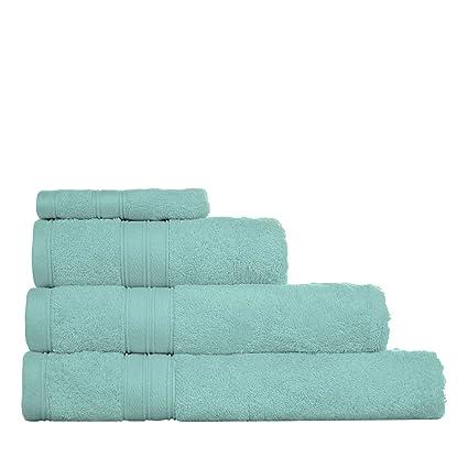 Home collection luz azul Hygro Toallas de algodón egipcio, algodón egípcio, Azul pálido,