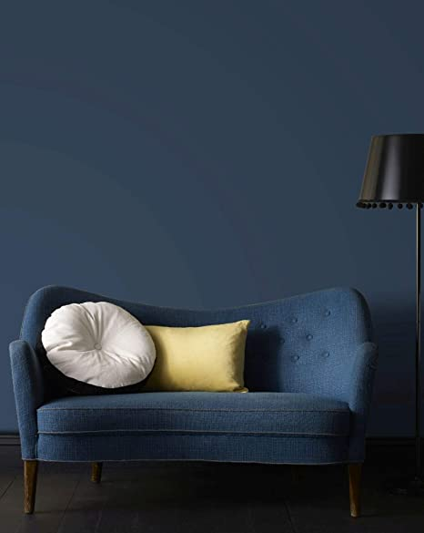 Superfresco Easy Navy Blue Ecailles Gatsby Textured Plain Wallpaper