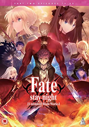 Image result for Fate Stay Night : Unlimited Blade Works