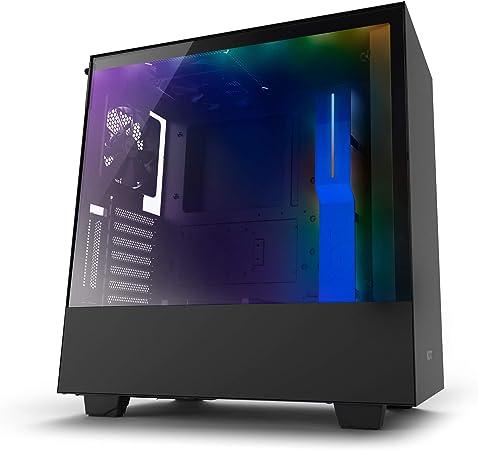 Nzxt H500i Kompaktes Atx Mid Tower Gehäuse Für Computer Zubehör