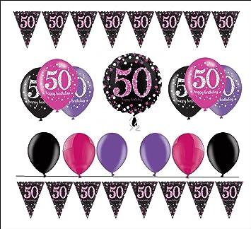 celebran fija para 50 cumpleaños I 14 piezas Globo de aire ...